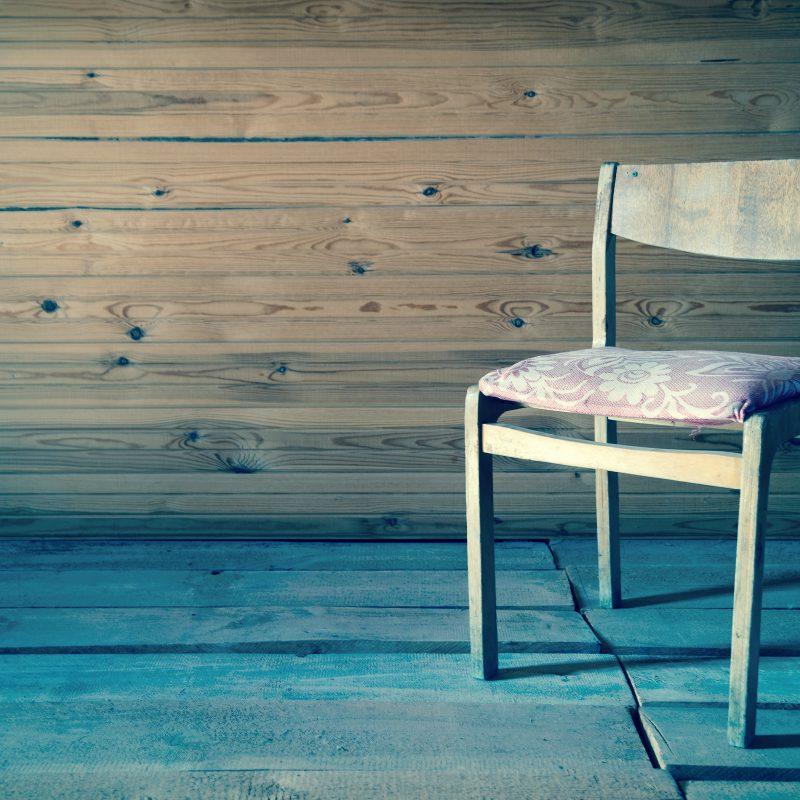 heartbreak chair letting go